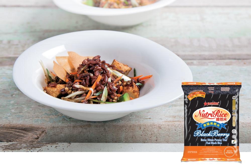 Asian Black Rice Salad | Jasmine Food Corporation Sdn  Bhd